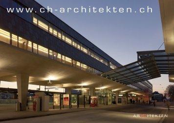 Neustart der Homepage - CH-Architekten