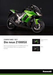 Z1000SX (ABS) - 2-Rad Wehrli