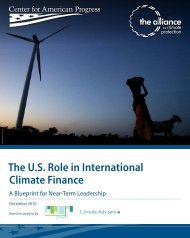 The U.S. Role in International Climate Finance - Center for American ...