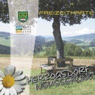 Freizeitkarte 1. Teil - Hansbergland