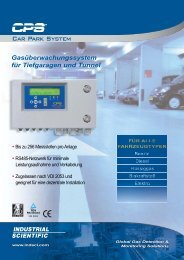 Car Park System - Gas Alarm Systems
