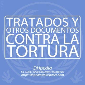 Tratados y otros documentos contra la tortura