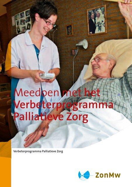 Brochure 'Meedoen met het Verbeterprogramma Palliatieve Zorg?'