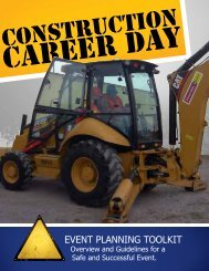 Construction Career Day Toolkit - Spokane Public Schools
