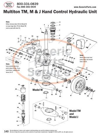 Hand Pallet Jack Parts Diagram on wiring diagram for yale forklift