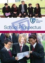 School Prospectus - The Brakenhale School