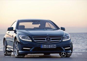 Listino - Mercedes-Benz Italia