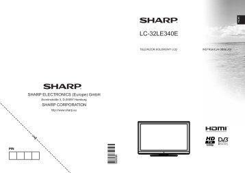 LC-32LE340E Operation-Manual PL - Sharp