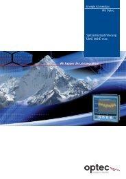 professionell Energie-Sparsysteme für das ... - Optec AG