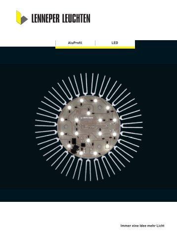 LED AluProfil Immer eine Idee mehr Licht - Lenneper Leuchten