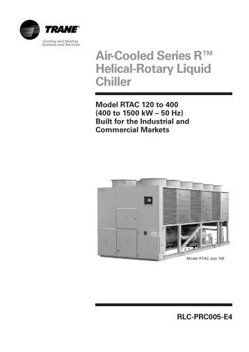 Air cooled series r rotary liquid chiller model rtac trane air cooled series r helical rotary liquid chiller trane ccuart Image collections