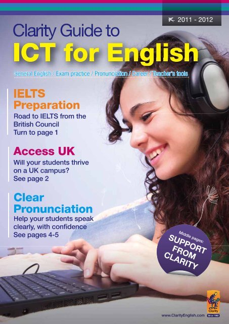 ICT for English - Clarity English language teaching online