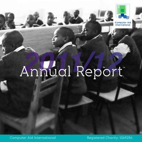 Annual Report 2011-2012 - Computer Aid International