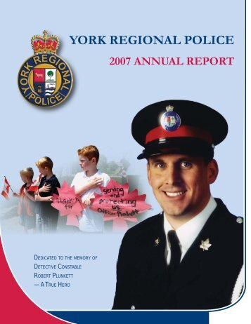 Annual Report-2007- Inside Pages.indd - York Regional Police