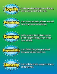 Virtues Definitions Poster - WMU
