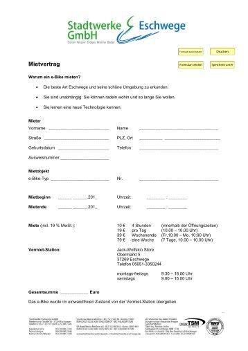 mietvertrag - ER-EN c/o Eceo-Rent Gmbh Vermietung Pkw Lkw ...