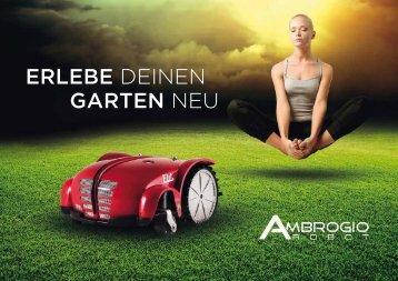 finden Sie das aktuelle Prospekt für Rasenroboter - Ambrogio