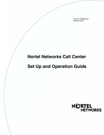 nortel norstar compact ics manual