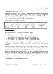Załącznik Nr 1 do SIWZ Opis przedmiotu zamówienia - część I ...