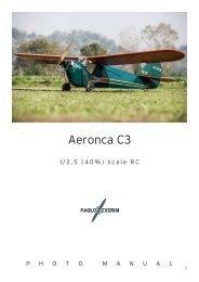 Aeronca C3 - RC DEPOT