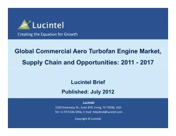 Global Commercial Aero Turbofan Engine Market, Supply ... - Lucintel
