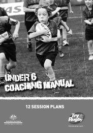 Under 6 Coaching Manual - 2012