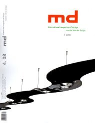 Page 1 International magazine of design moebel interior design 4 ...