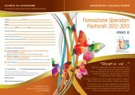 formazione operatori pastorali 2012-2013 - Arcidiocesi di Ancona ...