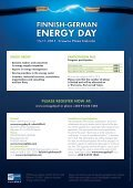 ENERGY DAY - Finnish-German Energy Day 2012 - Page 6