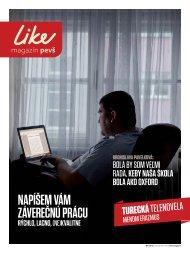 LIKE magazín 04/2011 PDF - Paneurópska vysoká škola
