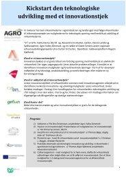 Download invitation med program hér - Grønt Center