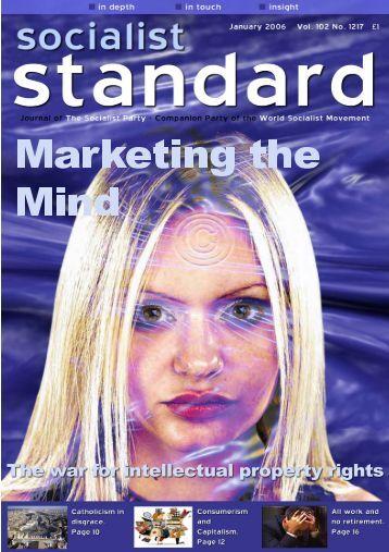 Socialist Standard January 2006.pdf - World Socialist Movement