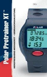Polar Protrainer XT - Für Sport, Fitness und Wellness