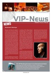 Open newsletter (PDF/print) - VIP-Booking