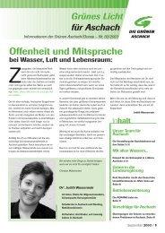 Zeitung September 2003: