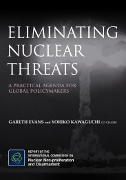 Eliminating Nuclear Threats: a Practical agenda for Global