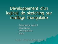 Présentation - Master, Mes projets , Sketching , modelisation 3D ...