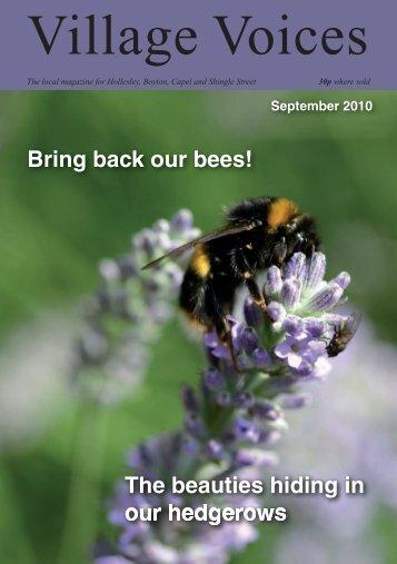 September 2010.indd - villagevoices.org.uk