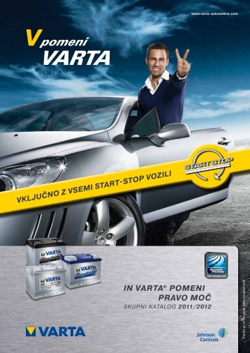 Katalog Varta 2011 - Petrol