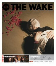 Wolfmother/12 USkydiving /10 - The Wake