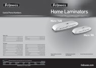 Home Laminators - Fellowes