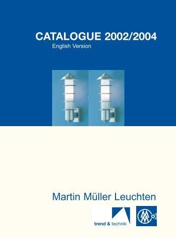 Martin Müller Catalogue - Garden & Landscape Lighting WHY