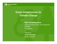 Green Infrastructure for Climate Change by Mark ... - VALUE