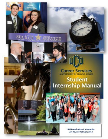 Student Internship Manual - UCO Career Services