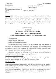 Reglement met betrekking tot de voorwaarden van de ... - Koekelberg