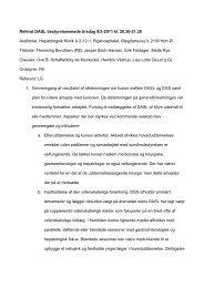 Referat DASL bestyrelsesmøde tirsdag 8/2-2011 kl ... - fra DSGH