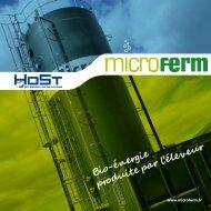 Brochure Microferm - HoSt