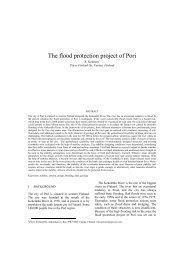 The flood protection project of Pori - Kivi Niria