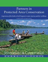 Partners in Protected Area Conservation - Conservation Gateway