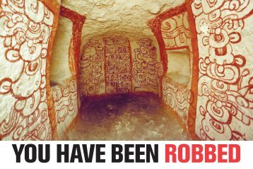 YOU HAVE BEEN ROBBED - Saving Antiquities for Everyone